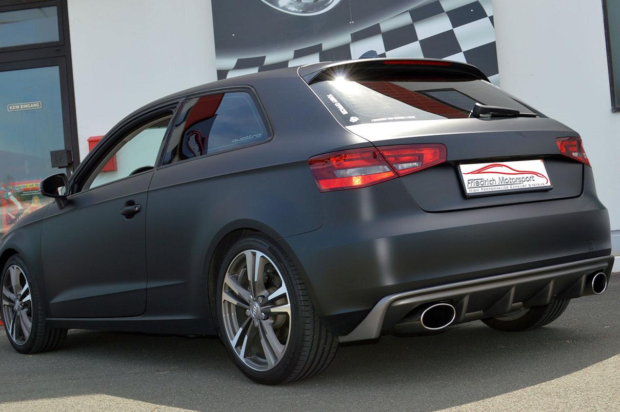 Audi A3 8V 3 Türe 1.2 TFSI mit Rieger Heck