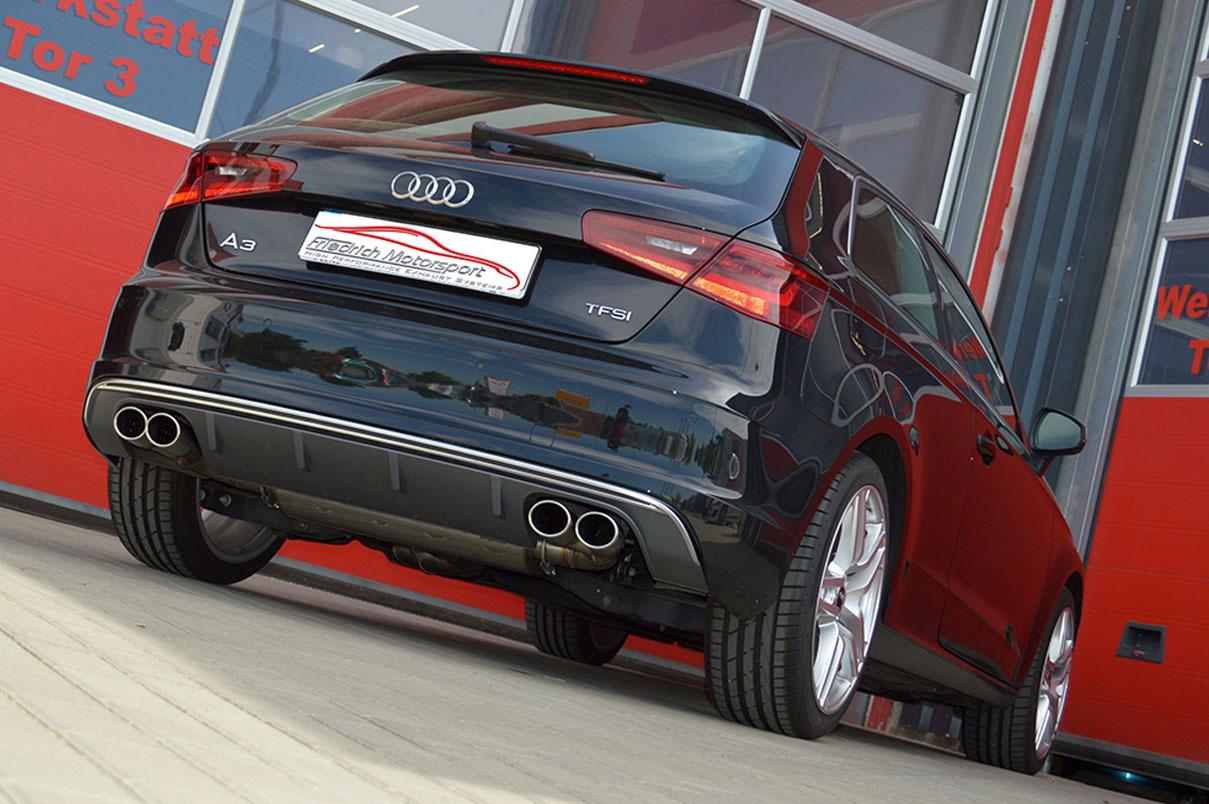 Audi A3 8V 3 Türer mit S3 Heck
