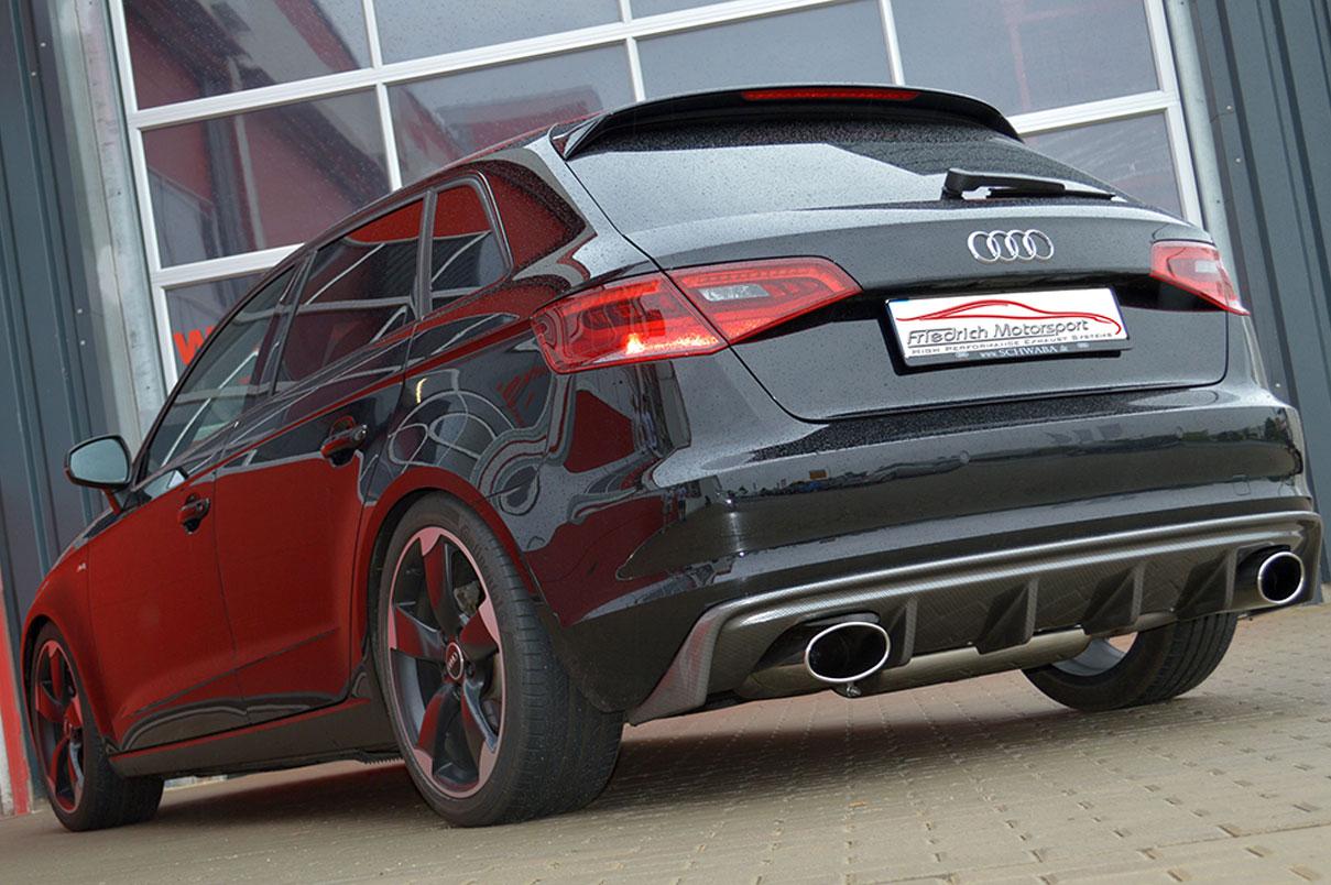 Audi A3 8V Sportback 1.2 TFSI mit Rieger Heck