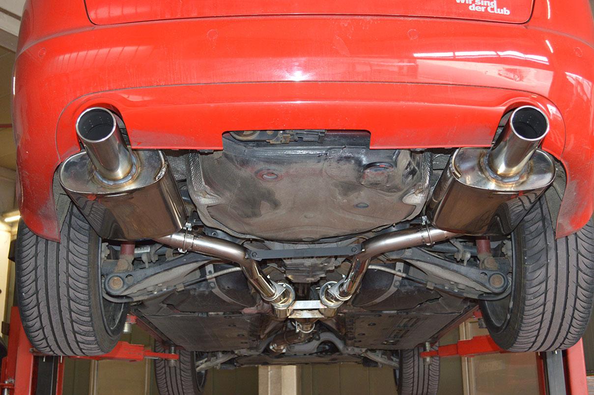Audi A4 B7 3.0l TDI 70mm Anlage