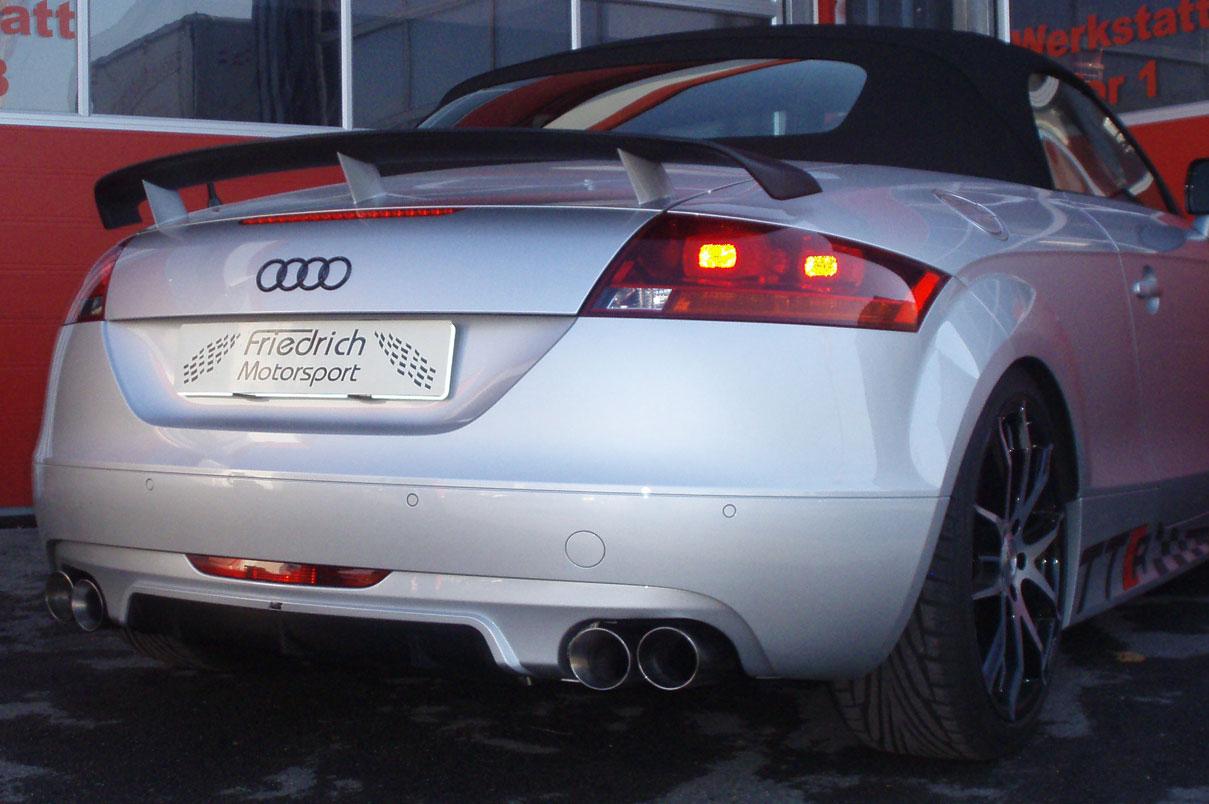 Audi TT 8J 3.2 Quattro mit Abt-Heck