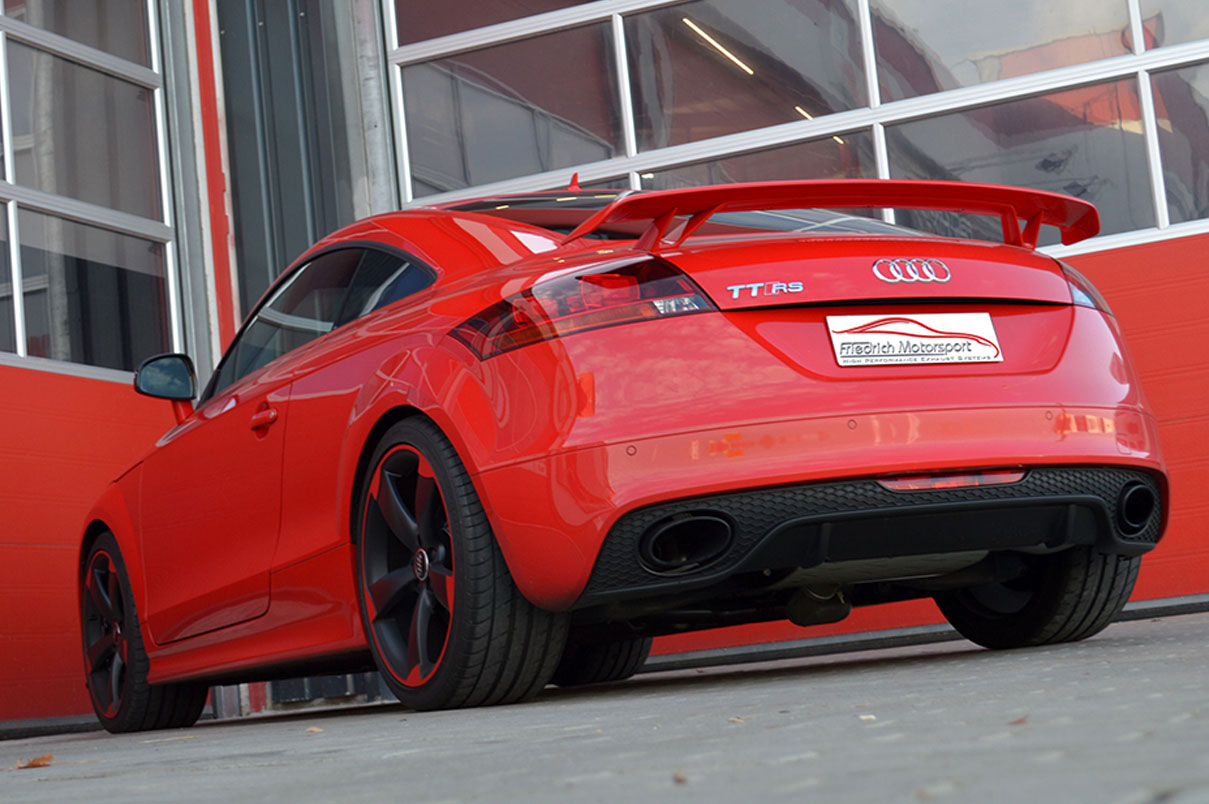 Audi TTRS Plus 76mm Klappenanlage