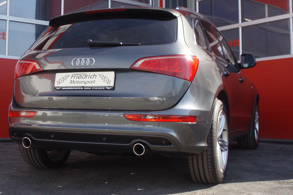 Audi Q5 2.0l TDI mit 3.0l TDI Heck