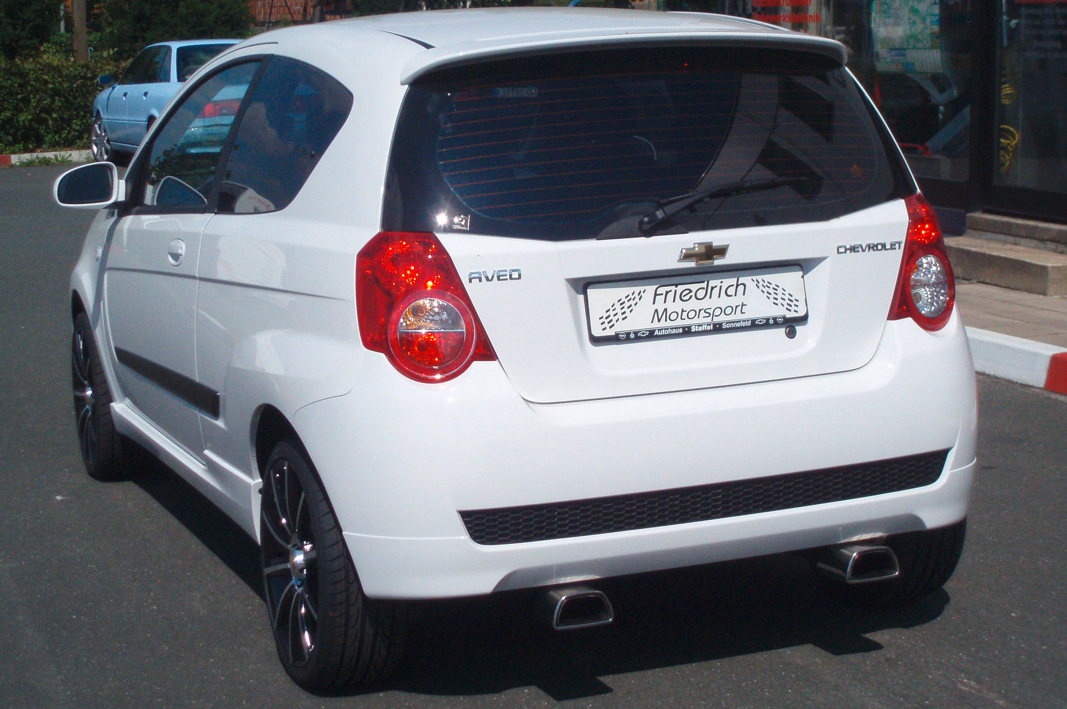 Chevrolet Aveo T250 3/5 Türer