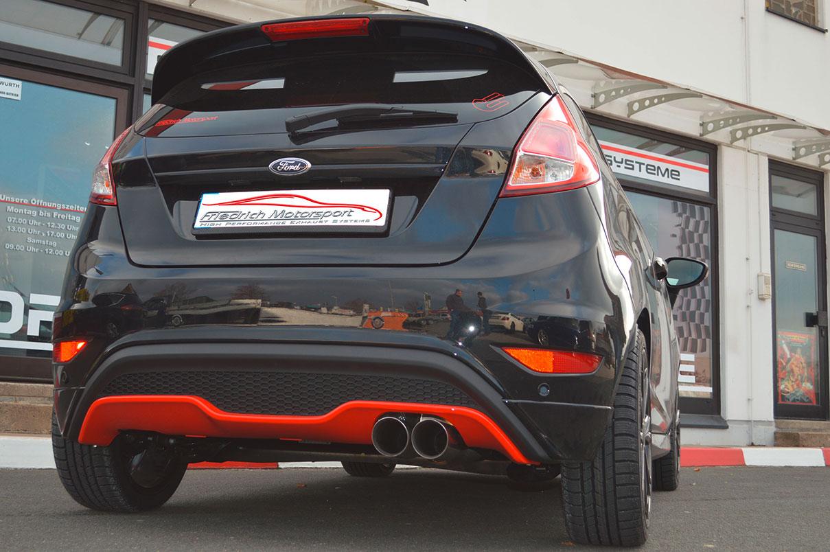 Ford Fiesta JA8 Black Edition mit ST Heck