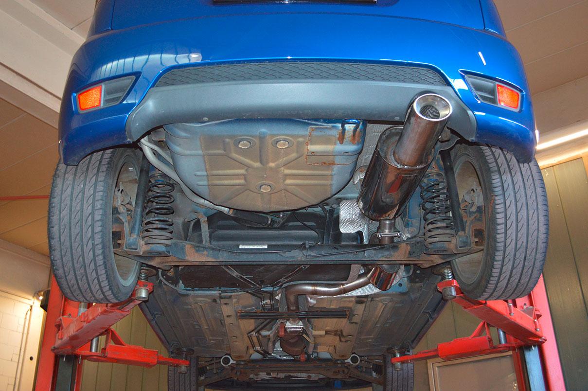 Ford Fiesta JH/JD3 ST von unten