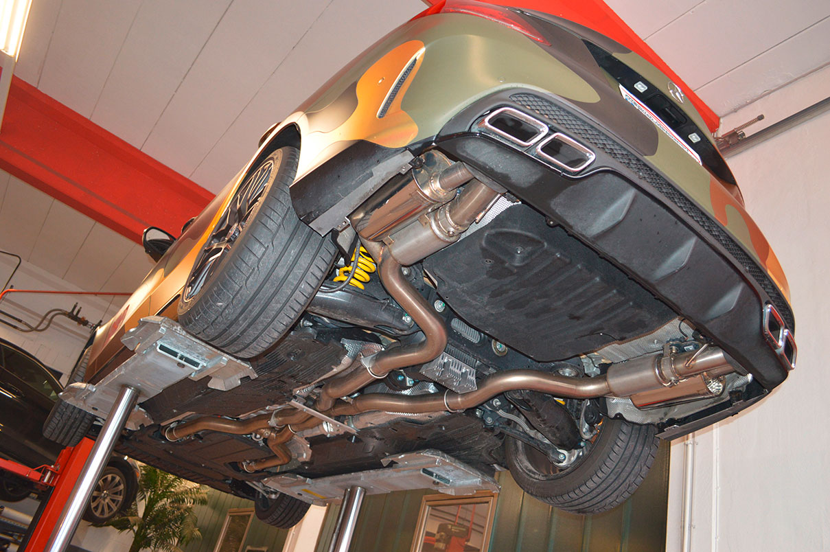 Mercedes C63 S AMG W205