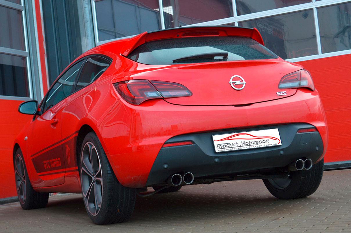 Opel Astra J GTC 1.6l Turbo