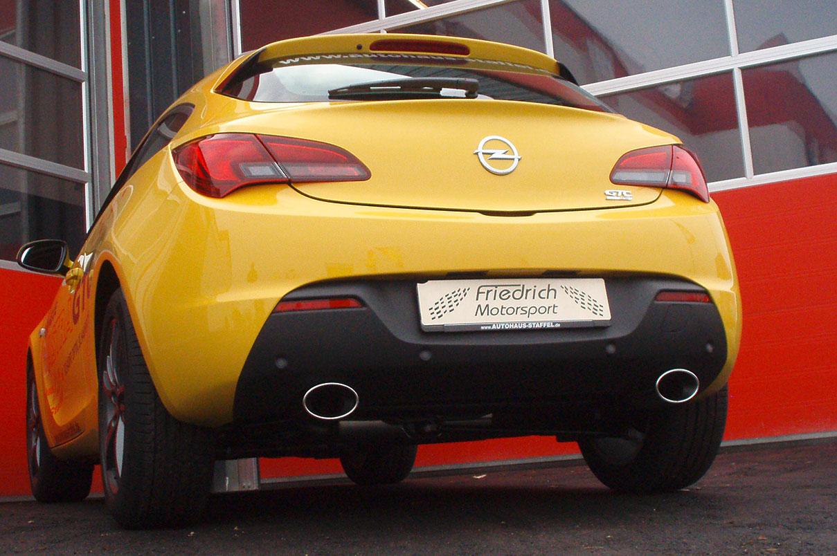Opel Astra J GTC Duplex