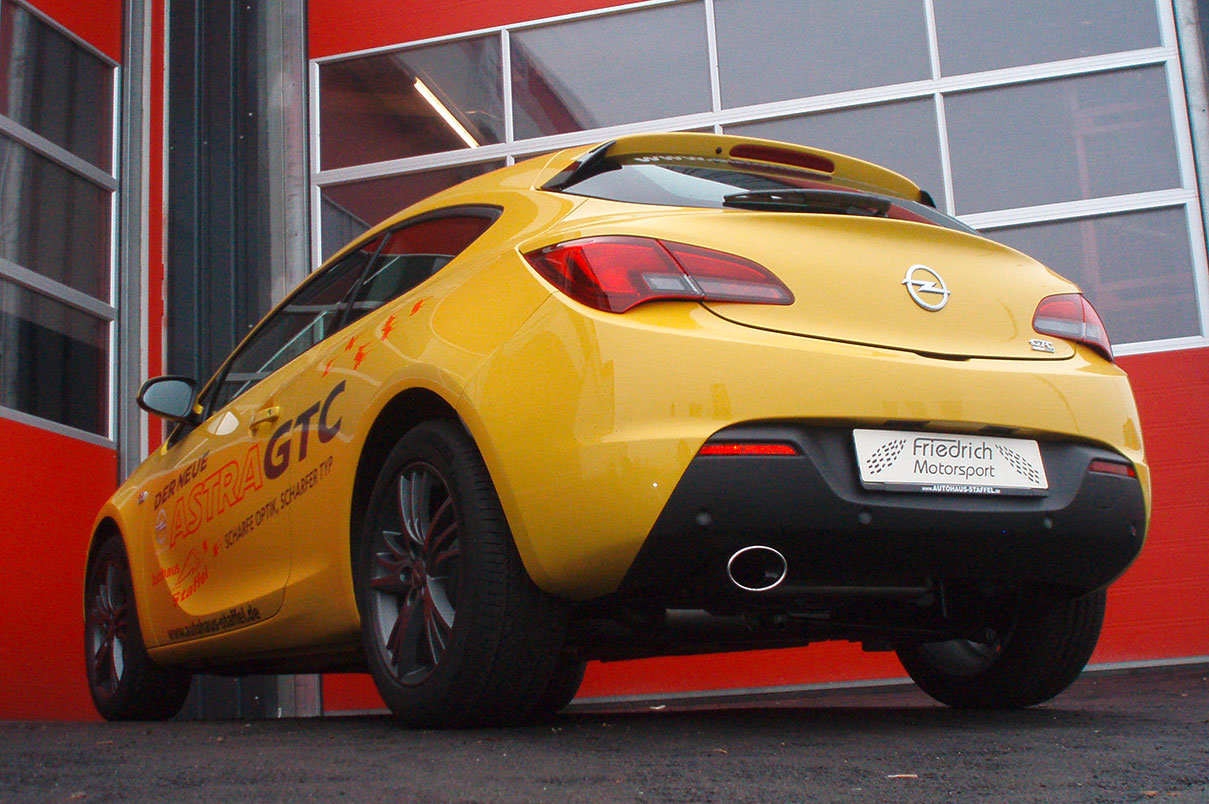 Opel Astra J GTC einseitig