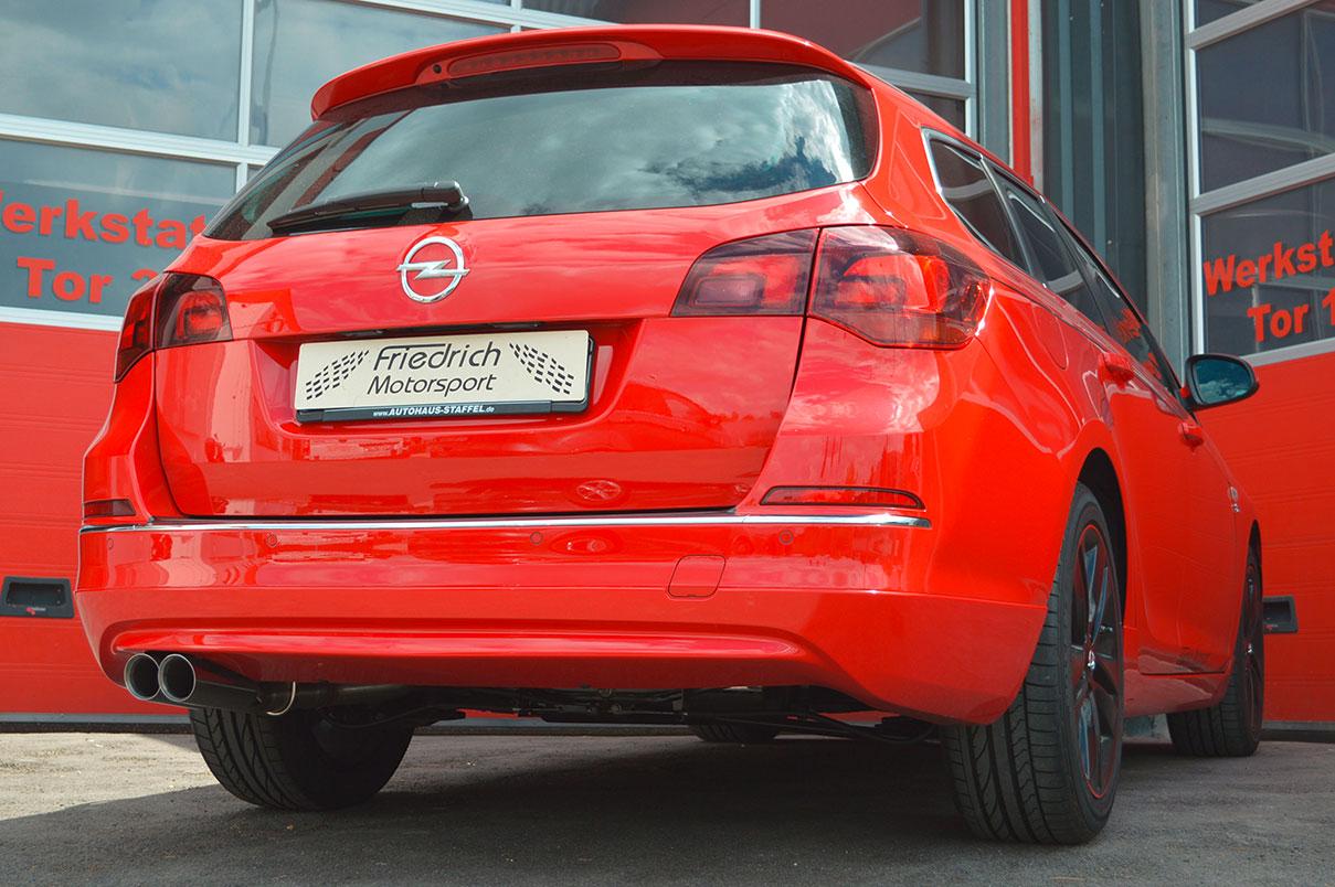 Opel Astra J Sportstourer Facelift