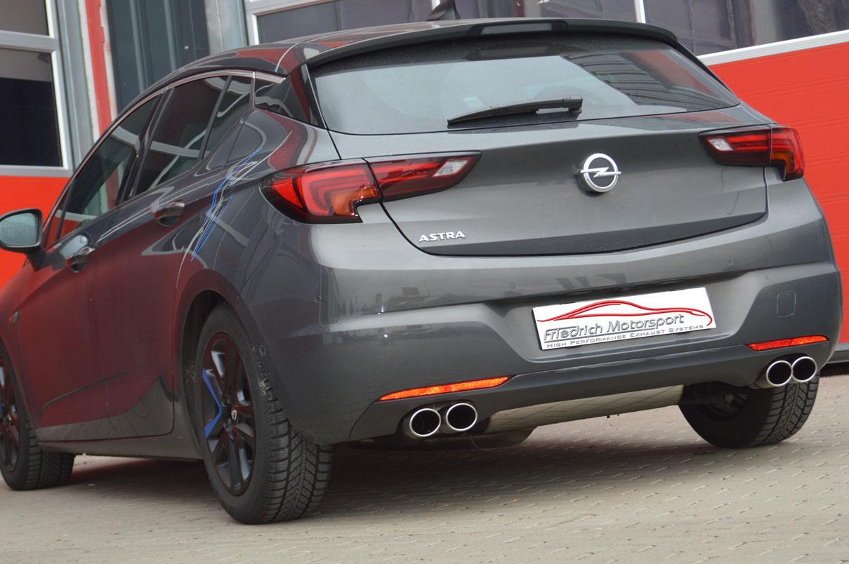 Opel Astra K 5 Türer 1.6l Turbo
