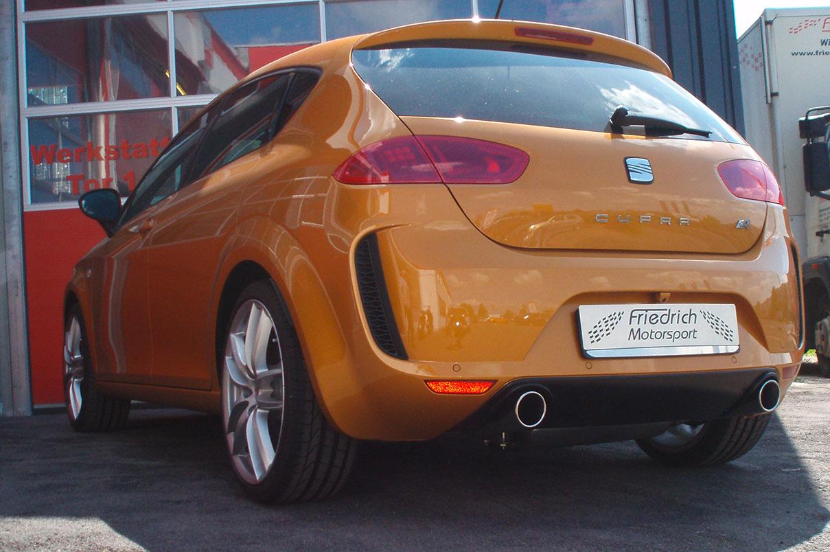 Seat Leon 1P Facelift mit Aerodynamikkit