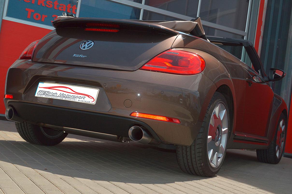 VW Beetle 5C Cabrio 1.4 TSI mit 2.0 TSI Heck