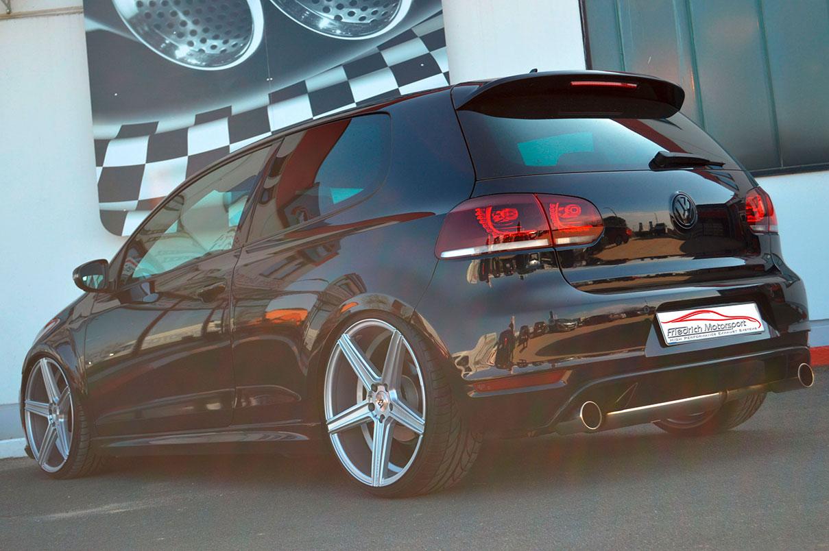 VW Golf VI GTI 76mm Anlage