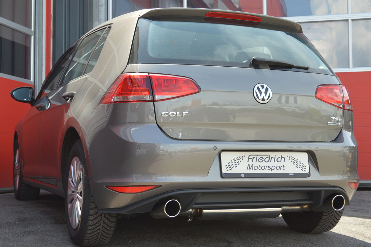 VW Golf VII 1.2l TSI mit GTI Heck
