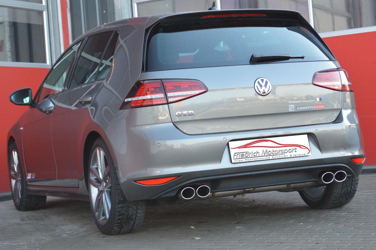 VW Golf VII GTD Duplex mit Standard-Heck
