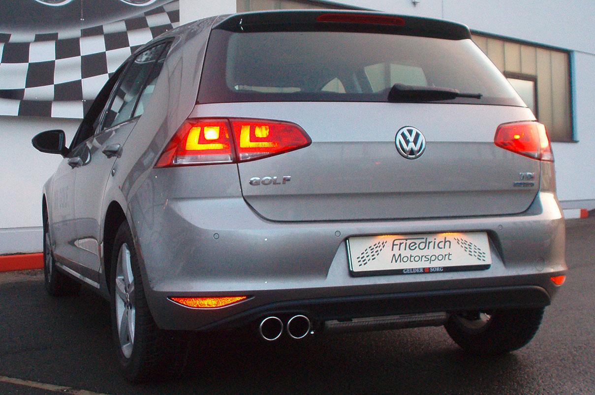 VW Golf VII einseitig