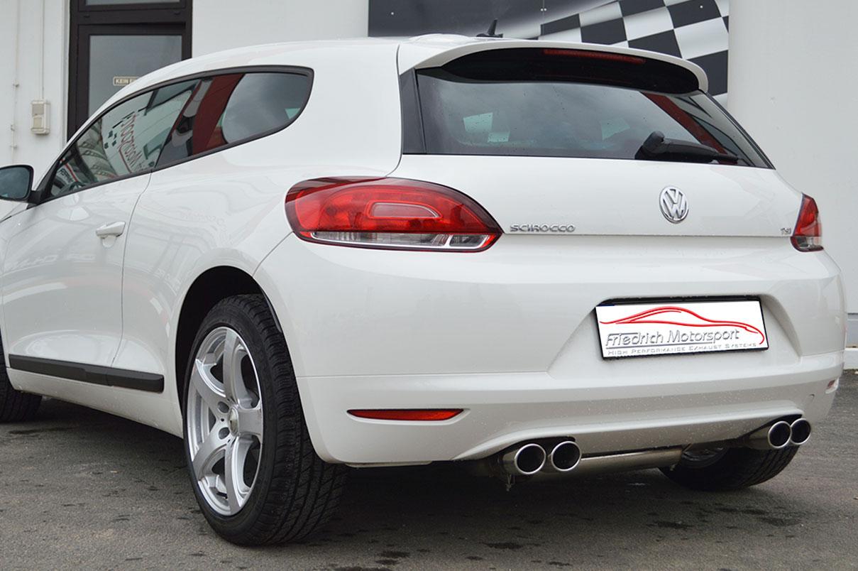 VW Scirocco III 1.4l TSI Duplex Anlage